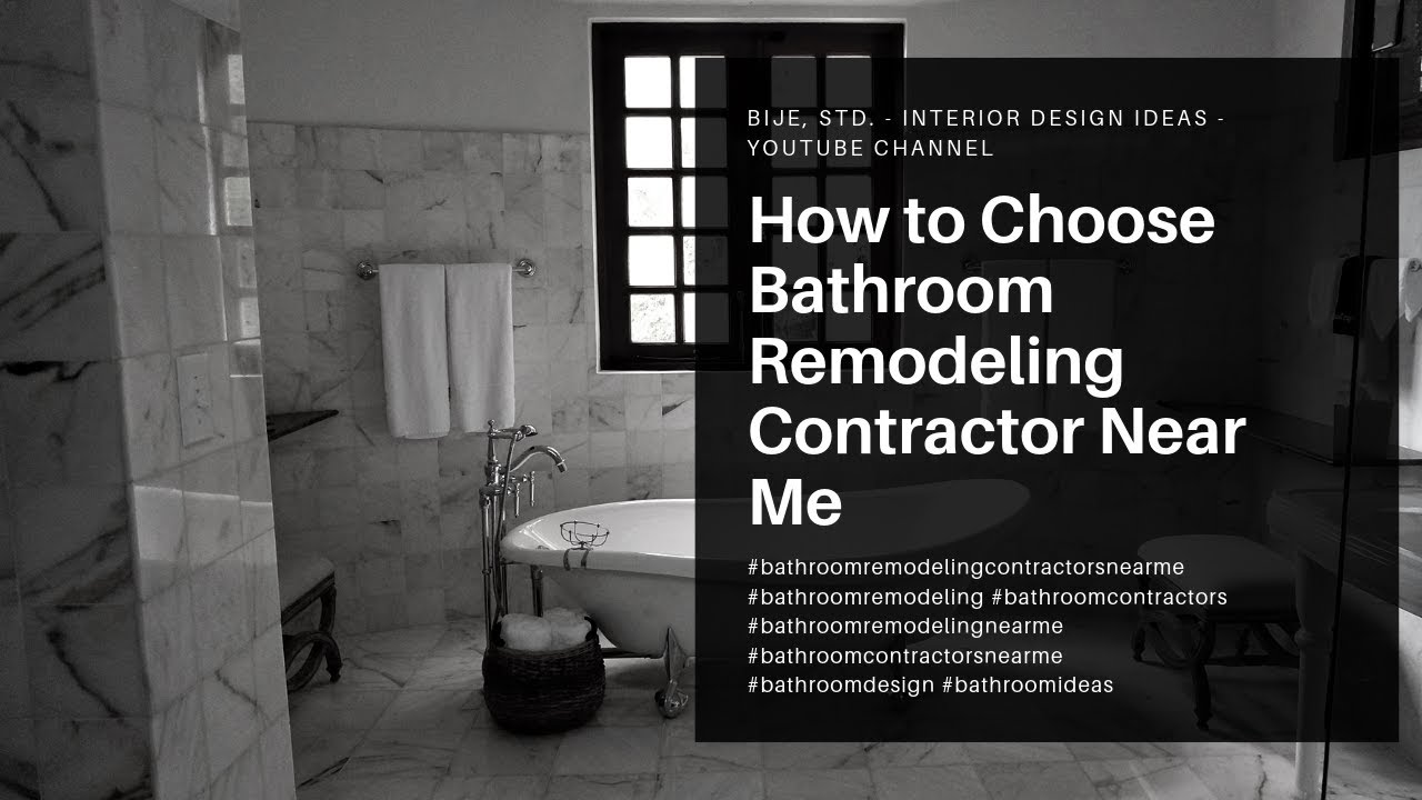 How to Choose a Remodeling Professional